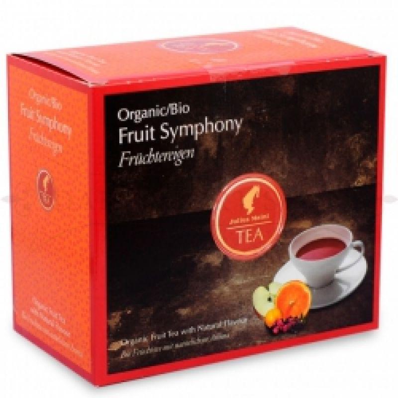 Органический фруктовый чай Julius Meinl Bio Fruit Symphony (Фруктовая Симфония) 20 x 4 г.
