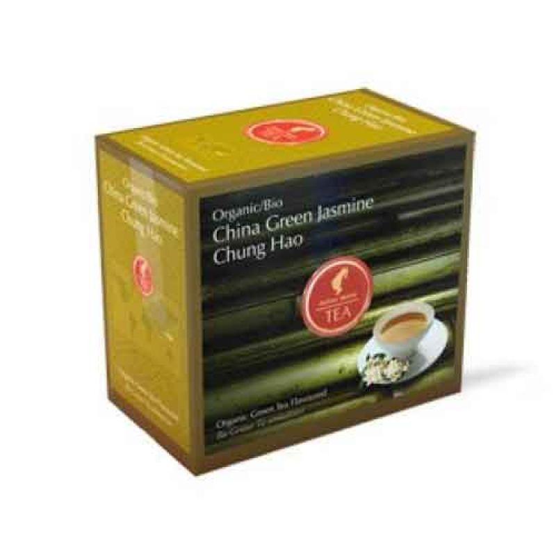 Органический зеленый чай Julius Meinl Bio China Green Jasmin Chung Hao Китайский Зеленый Жасмин Чунг Хао 20 x 3,25 г.