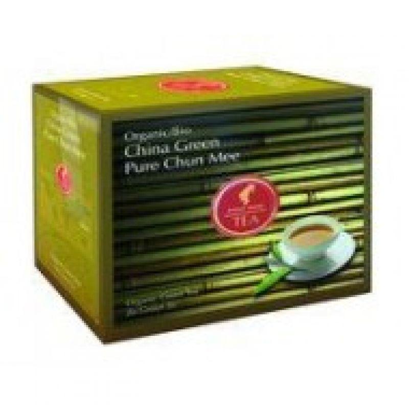 Органический зеленый чай Julius Meinl Bio China Green Pure Chun Mee Зеленый Китайский Шун Ми 20 x 3,25 г.
