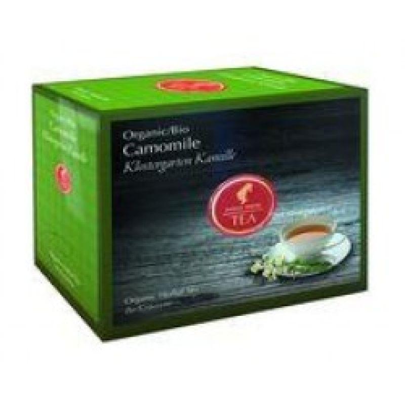 Органический травяной чай Julius Meinl Bio Camomile Ромашка 20 x 1,7 г.