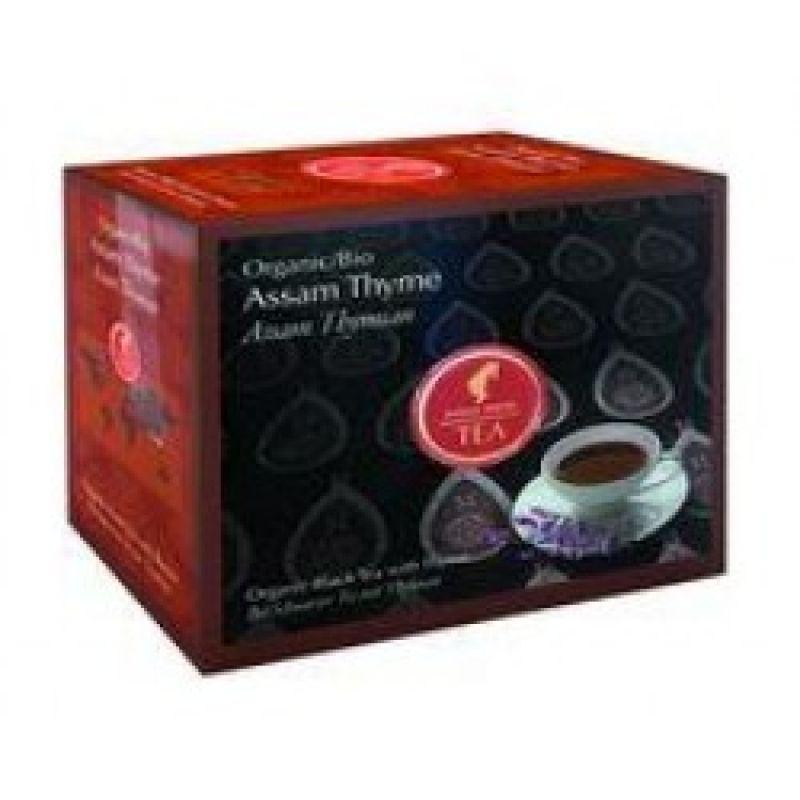 Органический черный чай Julius Meinl Bio Assam Thyme Ассам Чабрец 20 x 3 г.