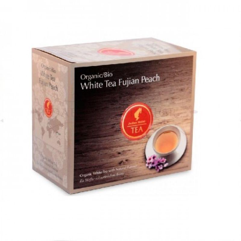 Органический белый чай Julius Meinl Bio White Tea Fujian Peach Фуцзянь Персик 20 x 3,25 г